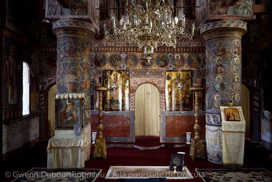 La tombe actuelle de Dracula en Roumanie