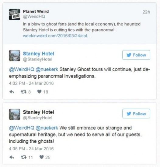 twitter stanley Hotel