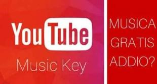 youtube music key,