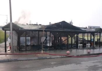 zjarri kafene rahovec
