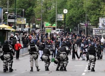 protesta dhuna shkup