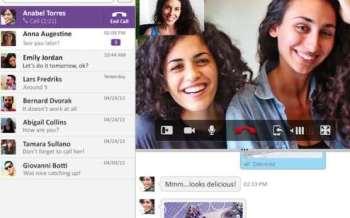video komunikimi viber