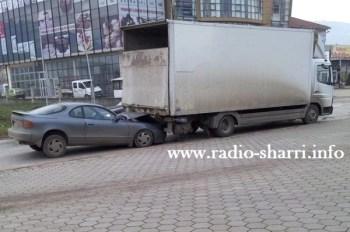 aksident prizren kamioni