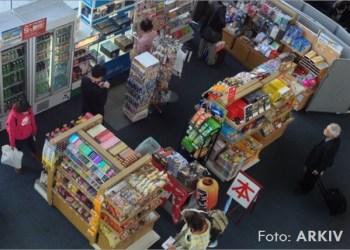 supermarket kamera vezhgimi