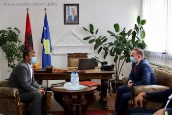 Ministri i Shëndetësisë, Armend Zemaj, vizitoi Dragashin (Video)