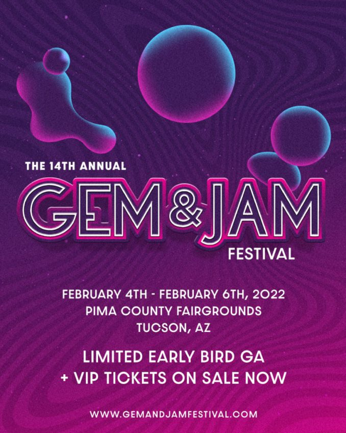 Gem and Jam Festival - afiche