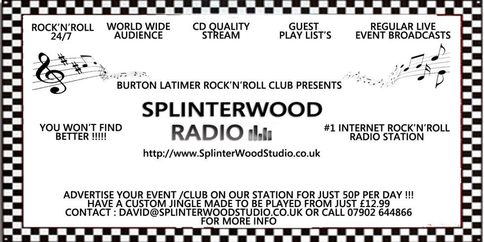 Advertise With SplinterWood Radio