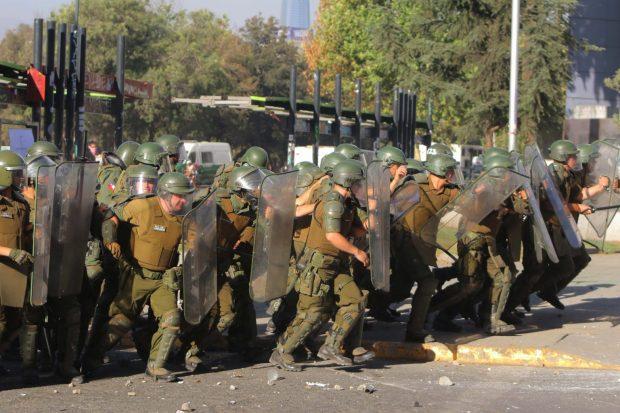 """Las jornadas de """"copamiento preventivo"""" llevadas a cabo por Carabineros e impulsadas por el intendente Guevara, generaron cuestionamientos desde la oposición. Foto: Archivo."""