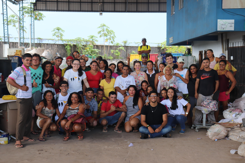 Projeto Cíclica, promovido pelo Time Enactus UFPA