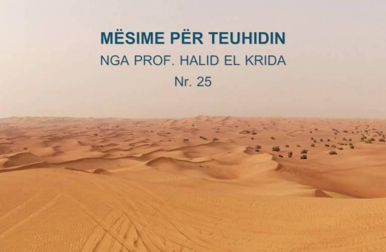 TEUHIDI 25 Prof. Halid El Krida pjesa 2