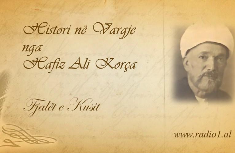 Histori ne vargje   Hafiz Ali Korca   185 Fjalët e Kusit