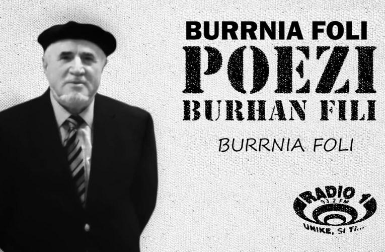 Poezi  nga Burhan Fili | Burrnia Foli |