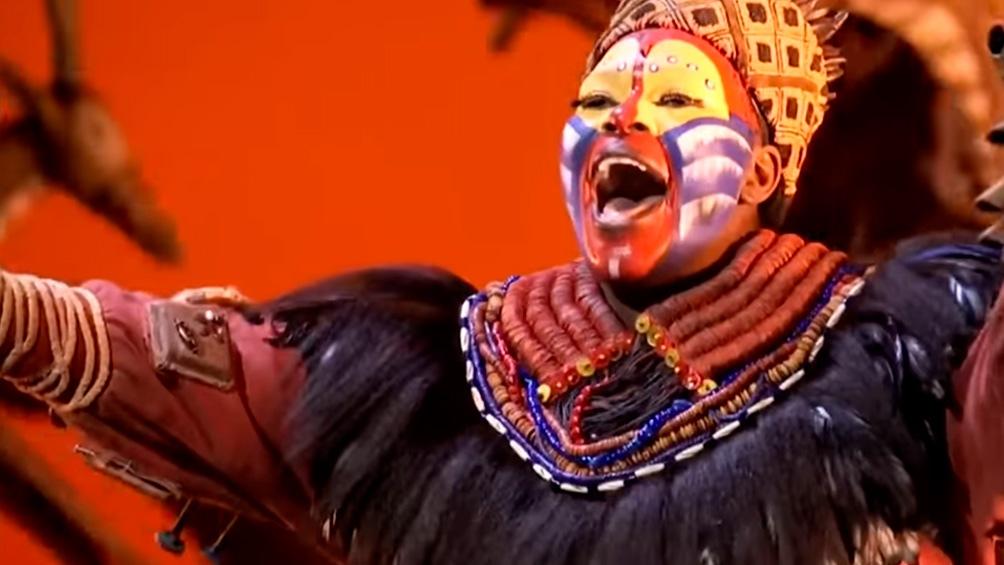"""""""El Rey León"""", uno de los musicales que regresan a Broadway."""