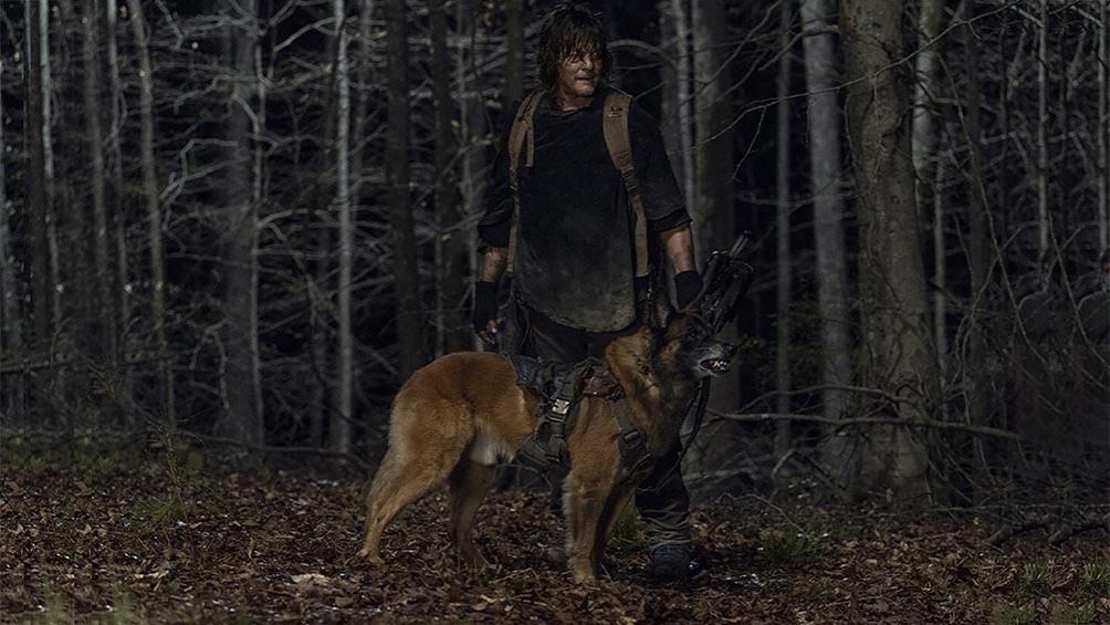 Del elenco original, solamente Daryl y Carol, interpretada por Melissa McBride, siguen ahí todavía.