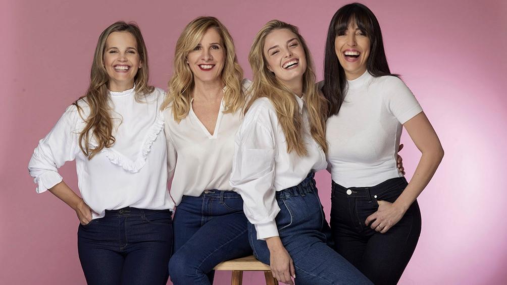 """Sabrina Garciarena, Viviana Puerta, Flor Otero y Paula Kohan en """"Madres"""""""