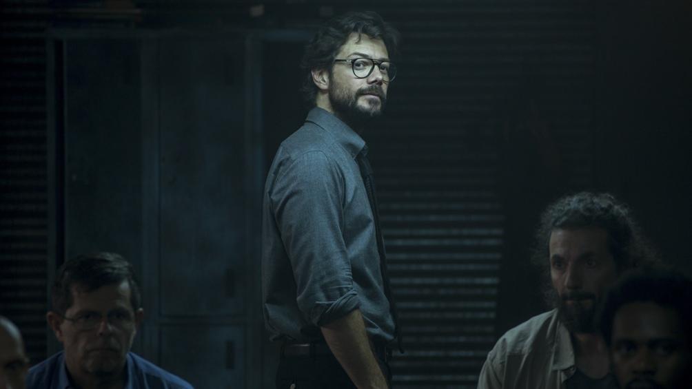"""Alvaro Morte, el actor español que encarna a El Profesor en la exitosa """"La casa de papel""""."""