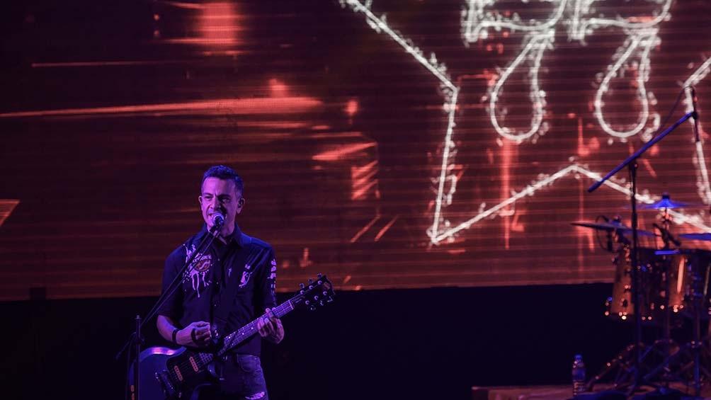 """Se trató de la puesta en escena con público de """"Sesiones pandémicas"""", el disco en vivo registrado durante un show por streaming durante el aislamiento."""