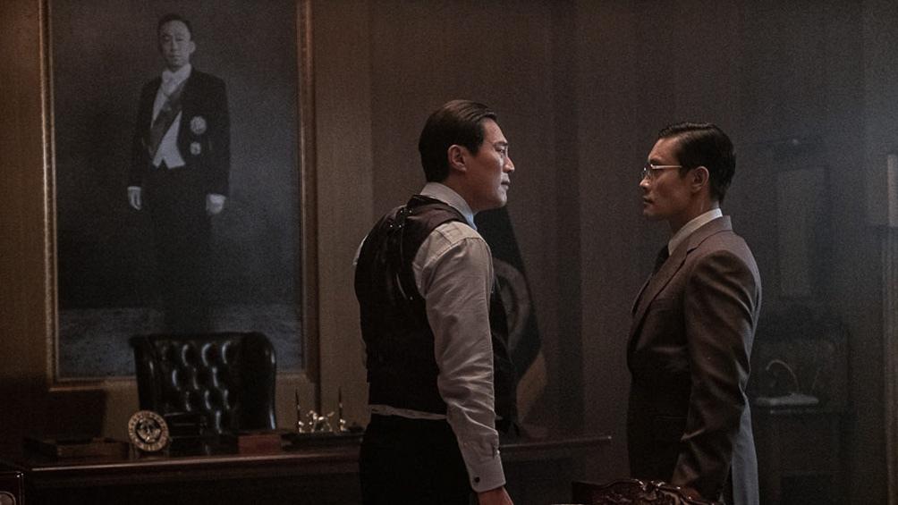 """""""El hombre del presidente"""", de Woo Min-ho, la cinta coreana más vista de 2020."""