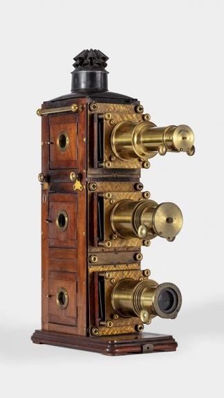 Uno de los proyectores antiguos de la Colección Balzer (Foto: AMPP)