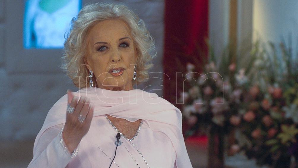 "Mirtha Legrand sometiva a ""estudios exhaustivos"" Foto: Carlos Brigo"
