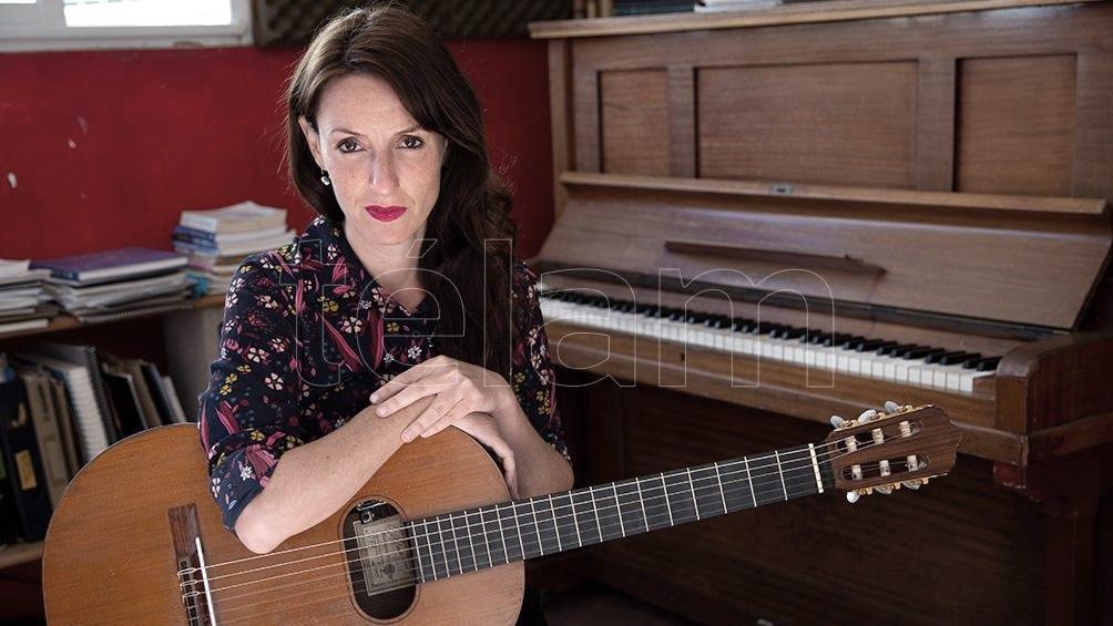"""Bernasconi: """"Me gusto más como cantante que en los discos anteriores"""" (Foto: Victoria Gesualdi)"""