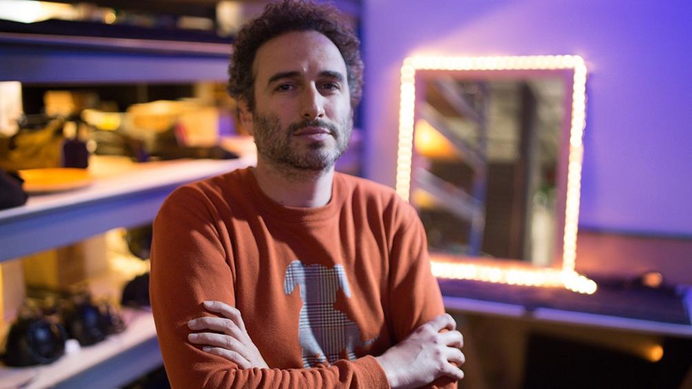 El director Daniel Werner. Foto: prensa Amor bandido.