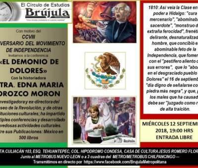 Conmemoracion de la Independencia de México,