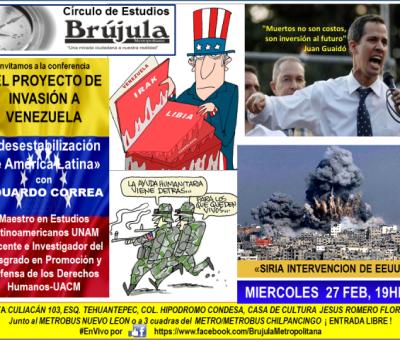 Repercusiones en México por apoyar la PAZ?