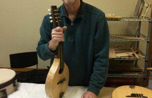 Jim Wilson of Red Valley Mandolins