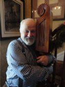 Frank Eld Hugging Wood
