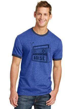 2019 Radio Boise logo ringer T-Shirt