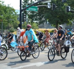 2018 Boise Goathead Fest bike parade team