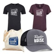 Radio Boise T-Shirt, Hat and Swag Bag