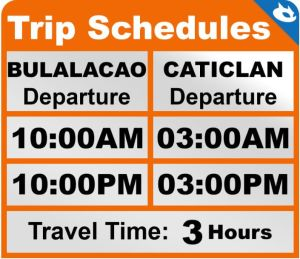 Caticlan-Bulalacao route via RORO