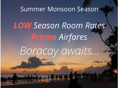 Boracay Events Monsoon Season Sale Invite June To October