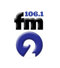 Radio Boracay 106.1 FM2 Logo Small