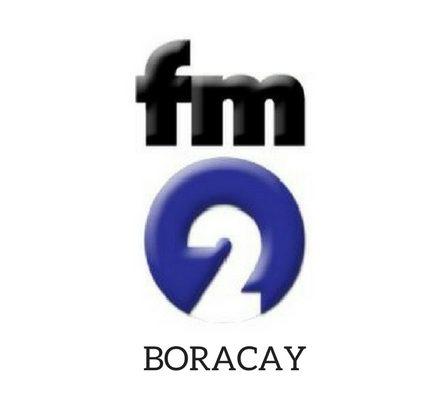 Radio Boracay Philippines FM2 Logo