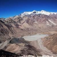 Los cerros más altos cerca de Santiago de Chile