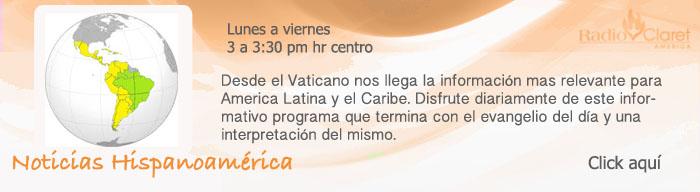 noticias hispanoamerica desde el vaticano