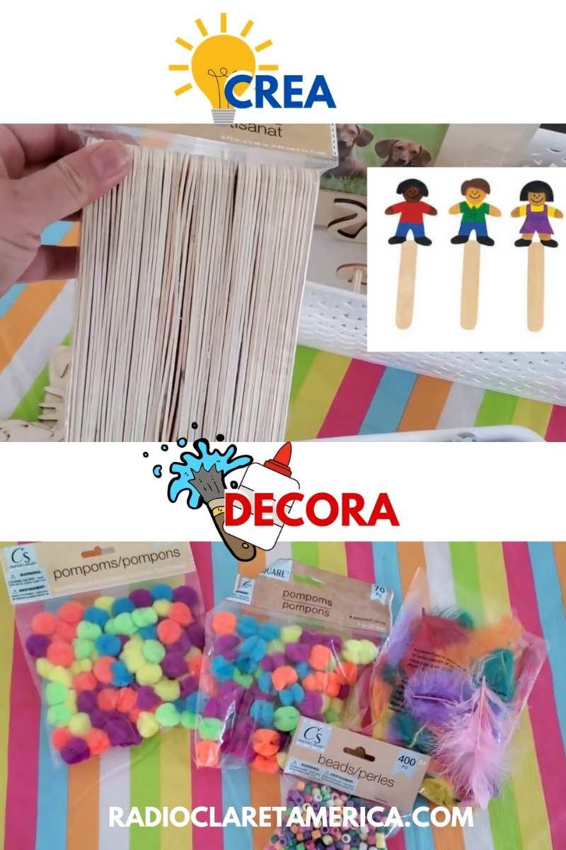ideas de manualidades para niños pequeños