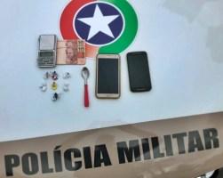 POLÍCIA MILITAR PRENDE TRAFICANTE DE DROGAS