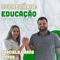 GRACIELA DARÓS PIFFER SERÁ A SECRETÁRIA DE EDUCAÇÃ...