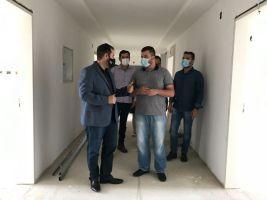 Secretário adjunto da Saúde e deputado visitam UTI...