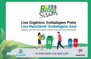 Sisam distribuirá sacos de lixo para população efe...