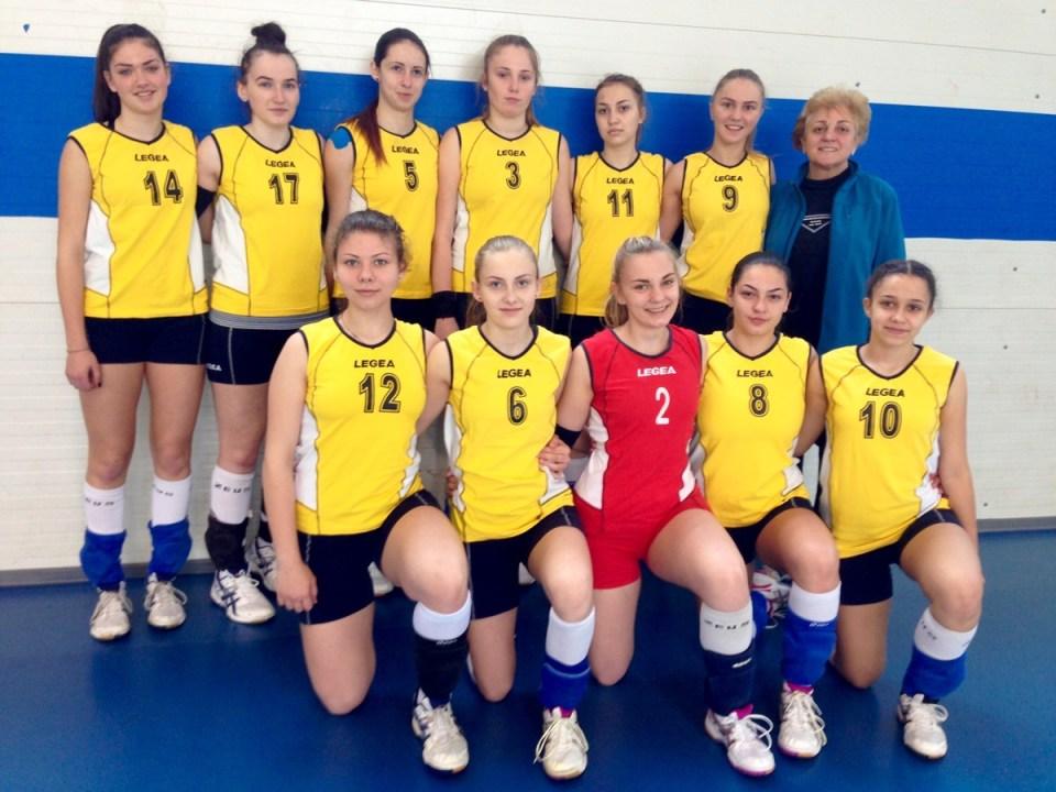 Echipa de cadete a Liceului cu Program Sportiv Cluj