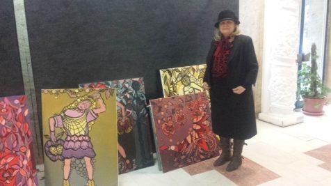 Olimpia Leah, artist plastic