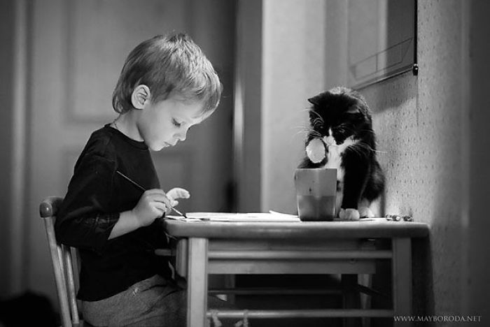 copil-pisica