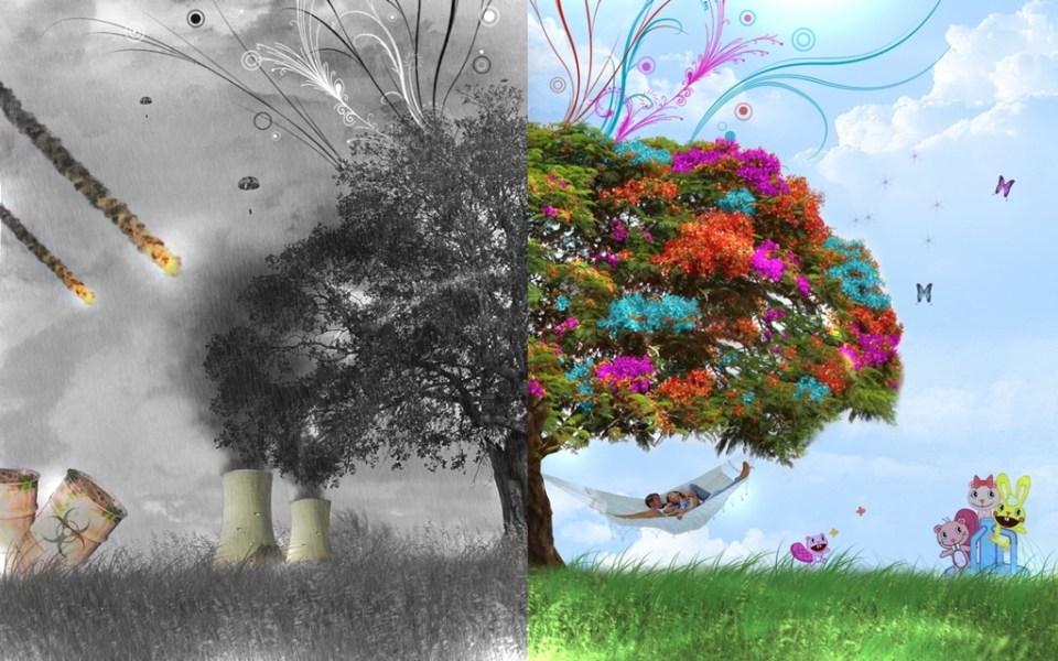 razboi pace copac