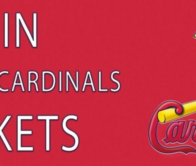 St Louis Cardinals Vs Cubs Ticket Giveaway