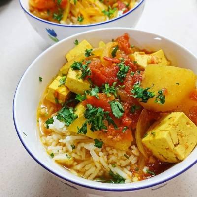 Curry de Tofu
